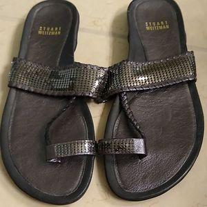 Stuart weitzman flip flop sandals